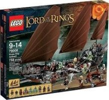 LEGO The Lord of the Rings 79008 Přepadení pirátů