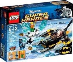 LEGO Super Heroes 76000 Arktický Batman vs. Mr Freeze : Aquaman v ledu