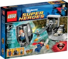 LEGO Super Heroes 76009 Black Zero Escape